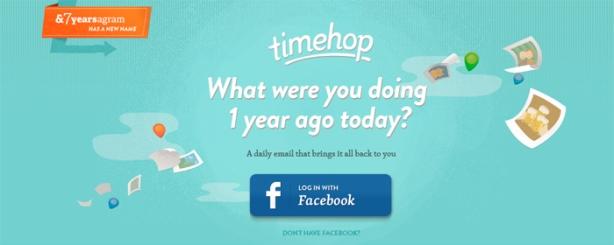 Nueva herramienta social, Timehop